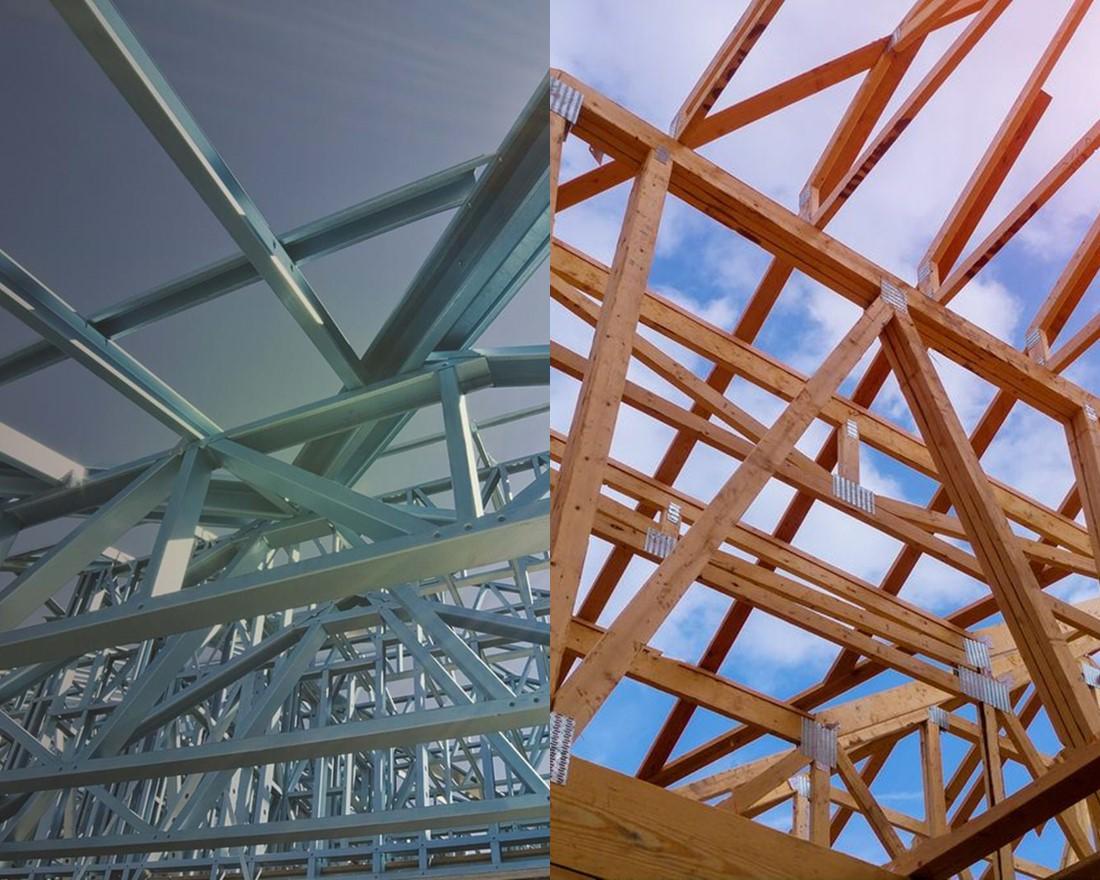 Rangka Atap Rumah Baja Ringan Vs Kayu, Mana yang Bagus? – Sunrise Steel