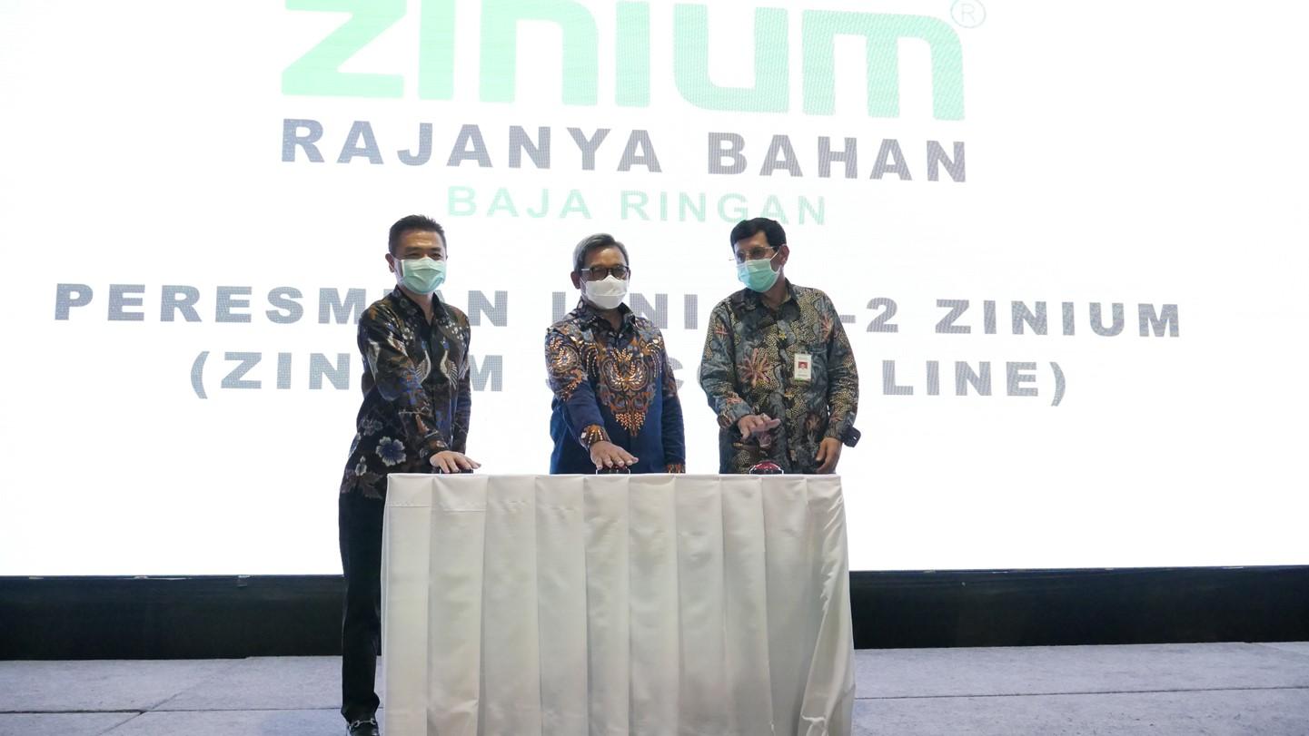 Peresmian Lini Ke-2 Zinium
